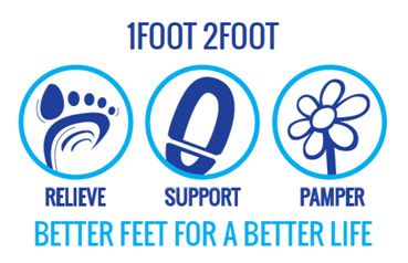 1foot 2foot can help relieve your foot pain