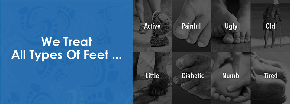 our suffolk foot doctors treat all types of feet